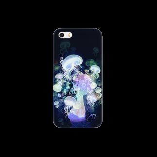 芹沢…のガスマスクラゲ Smartphone cases