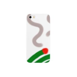 暑くて痒い夏 Smartphone cases