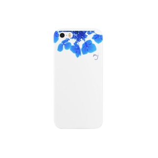 clear flower (花) Smartphone cases