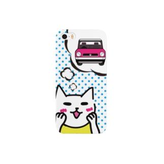 ニャンタの夢 Smartphone cases