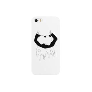 ぱんだがーる Smartphone cases