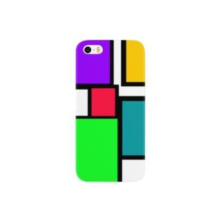 しかく5 Smartphone cases