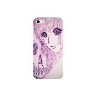 【販売終了】骸骨女 Smartphone cases