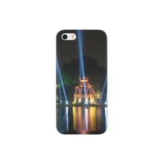 ホアンキエム湖大晦日ライトアップ Smartphone cases