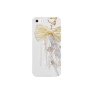 花とりぼん Smartphone cases
