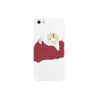 ボルドー Smartphone cases