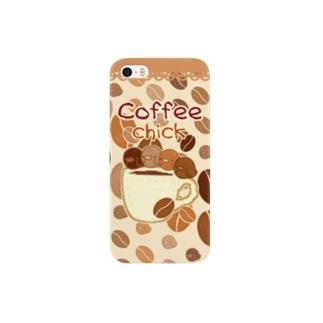 ぴよっこコーヒー2 Smartphone cases