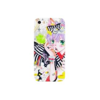 馬がぁ〜る Smartphone cases