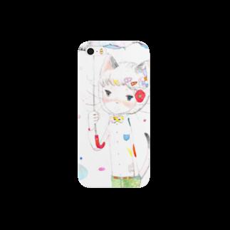 mifumiの雨 Smartphone cases