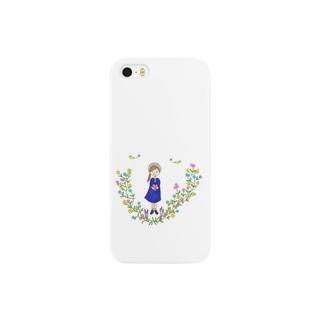 幸せを運ぶ女の子 Smartphone cases
