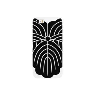 家紋 0057 蔦 Smartphone cases