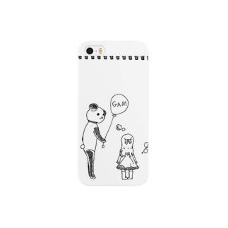 パンダガム Smartphone cases