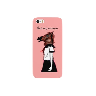Animal girl (ウマ) Smartphone cases