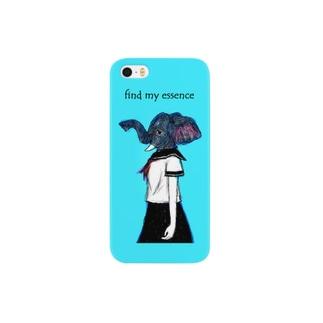 Animal girl (ゾウ) Smartphone cases