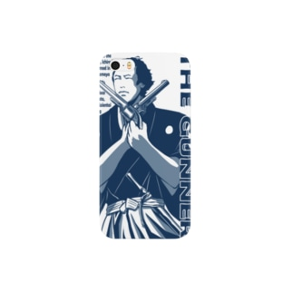 RYOMA THE GUNNER (NAVY) スマートフォンケース