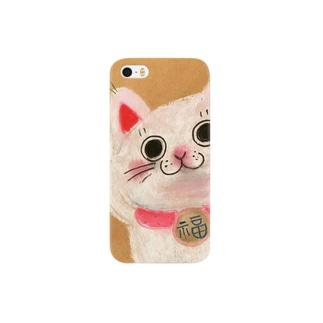 招き猫 Smartphone cases