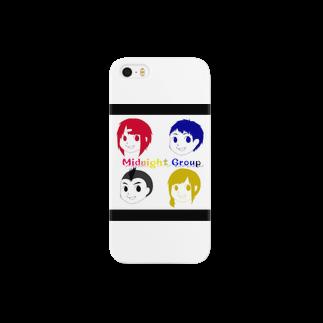 kyotiti1192のミッドナイトグループ Smartphone cases