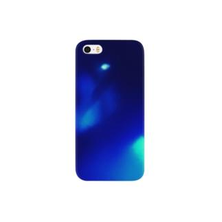 青が織り成す幻想 Smartphone cases