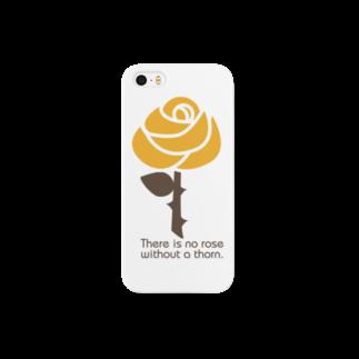 rose スマートフォンケース