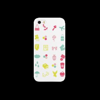 3pondSのpastel icon Smartphone cases