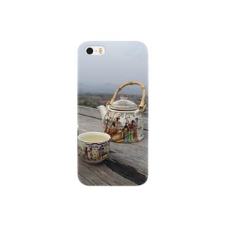 タイの中国茶と絶景 Smartphone cases