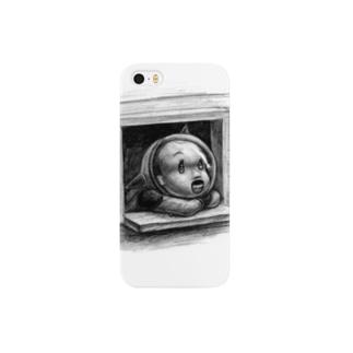 ヤノベケンジ《トらやんの大冒険》(流れ星?) Smartphone cases