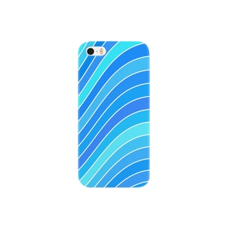 wave_blue Smartphone cases