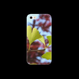 有川 弘治の銀杏 Smartphone cases