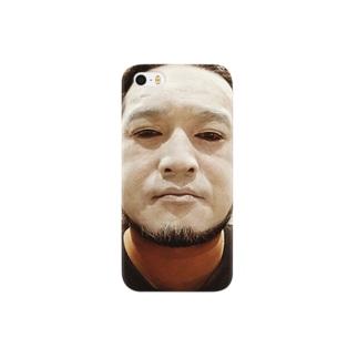 白塗りおじさん Smartphone cases