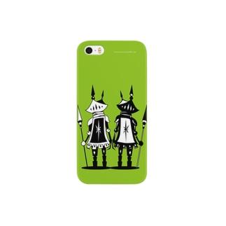 クロナイト+シロナイト Smartphone cases