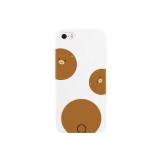 転がるくまスマートフォンケース Smartphone cases