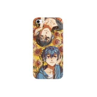 黒矢と杉さん Smartphone cases