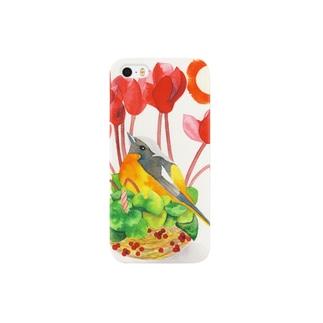 Sun〜ルリビタキ Smartphone cases