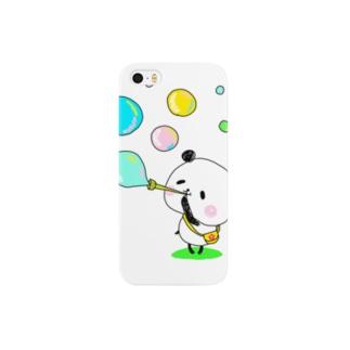 ぽよぽよパンダ Smartphone cases