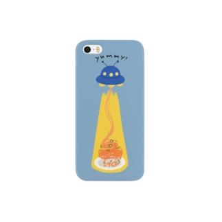 ナポリタン泥棒(blue) Smartphone cases