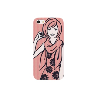 LADY Flower Smartphone cases