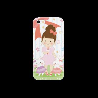 イラストレーター アキタヒロミのyuki's iPhoneスマートフォンケース