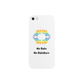 No Rain No Rainbow Smartphone cases