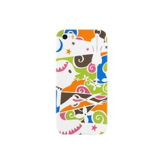 夜を切る Smartphone cases