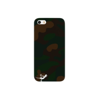 Meisai_Camouflage Smartphone cases