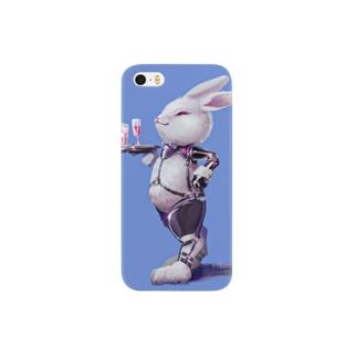 WAITER BUNNY BLUE Smartphone cases