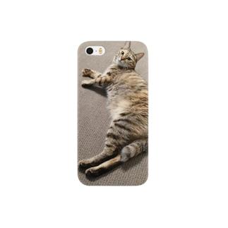 くつろぎ猫 Smartphone cases