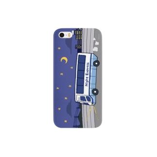 夜行バスで出かけましょう Smartphone cases