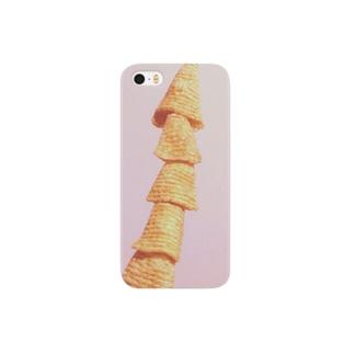 コーン菓子 Smartphone cases
