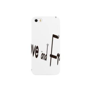 love & free(星に願いを) Smartphone cases