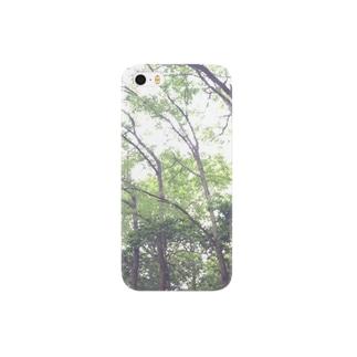 森の中へ Smartphone cases