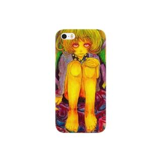 女の子02 スマートフォンケース