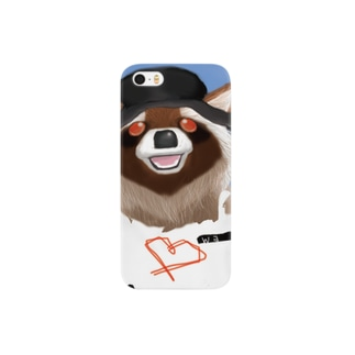 Raccoon dog Smartphone cases