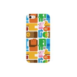 アニマルiphoneケース Smartphone cases