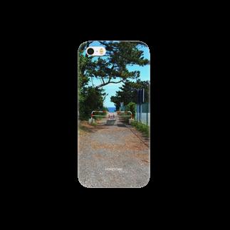 りゅの06/28 海への道 HOMETOWN Smartphone cases